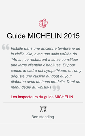 Presse Guide Michelin